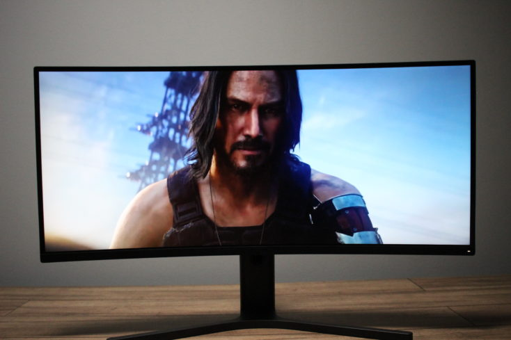 Xiaomi Curved Gaming Monitor Gaming Footage 3