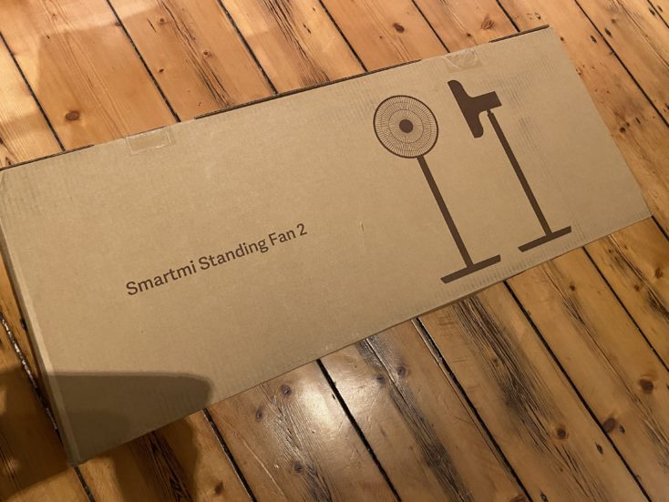 Xiaomi Smartmi Standing Fan 2 Packaging