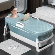foldable bathtub working