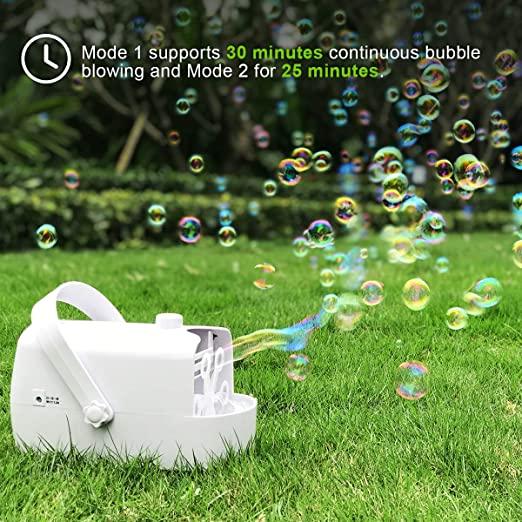 Bubble machine meadow