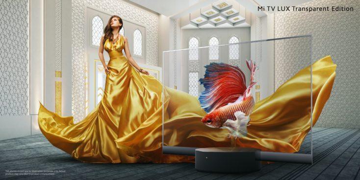 Mi TV LUX Transparent gold