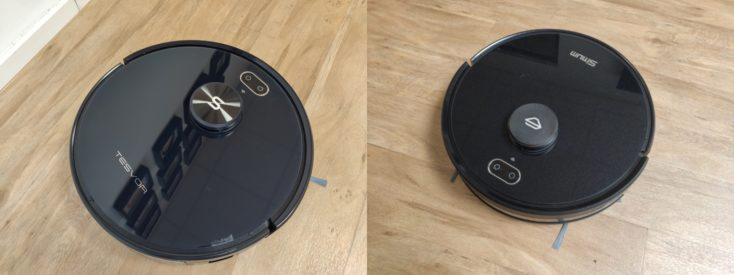 Tesvor S6 vacuum robot comparison Simum 6