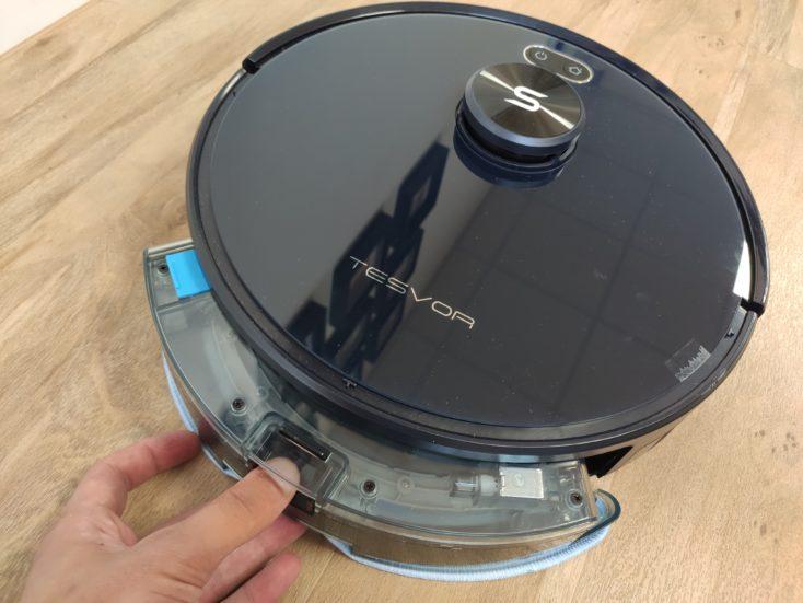 Tesvor S6 vacuum robot water tank Mounting