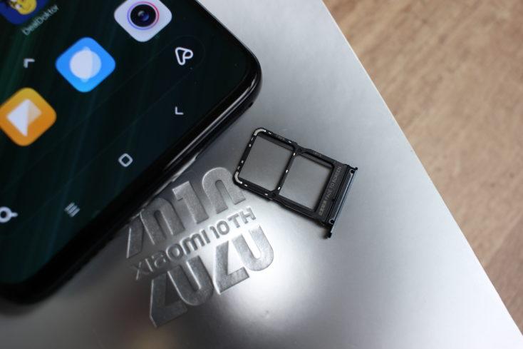 Xiaomi Mi 10 Ultra SIM Card