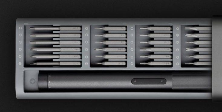 Xiaomi electric screwdriver set attachments