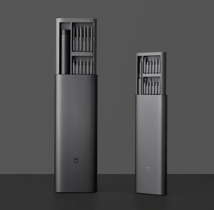 Xiaomi electric screwdriver set comparison