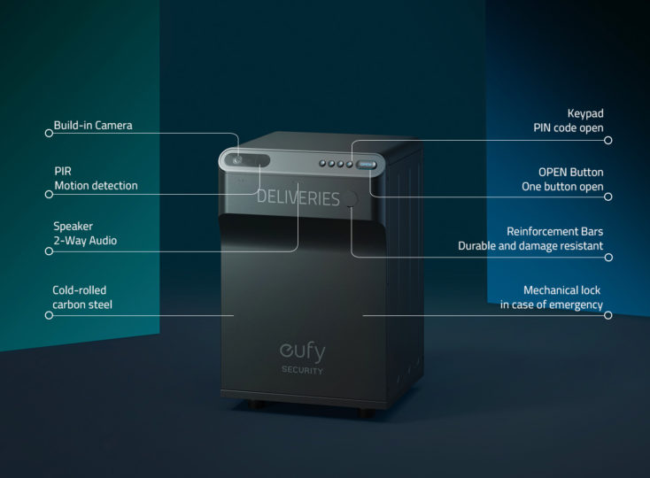 eufy Security Smart Drop details