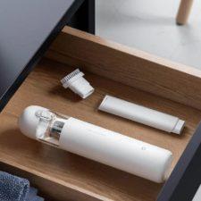 xiaomi mija wireless handheld vacuum cleaner in drawer