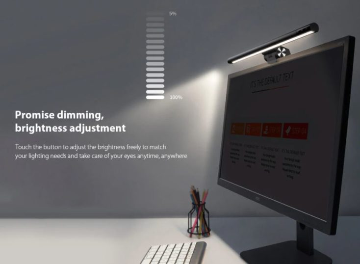 Baseus monitor lamp dim