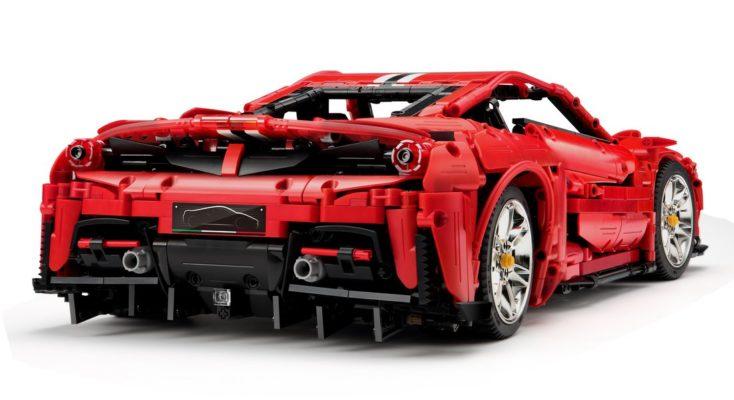 CaDA C61042W Master Series Ferrari Back