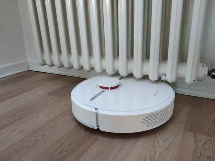 Dreame D9 vacuum robot under heating Dimensions