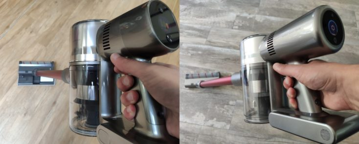 Dreame T20 battery vacuum cleaner comparison Dreame V11