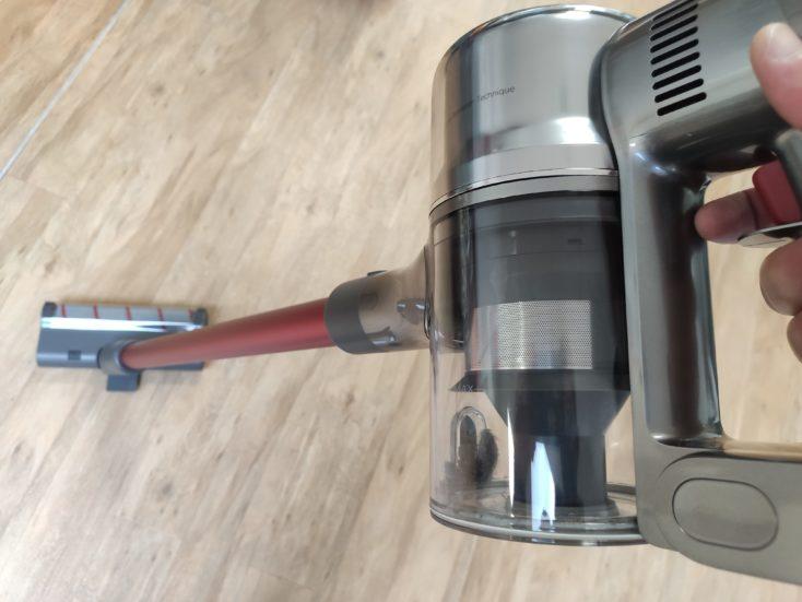 Dreame T20 cordless vacuum cleaner design
