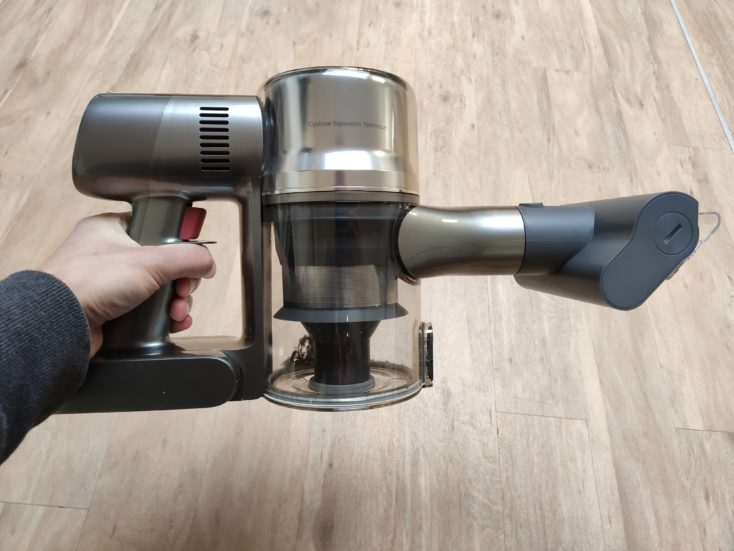 Dreame T20 cordless vacuum cleaner handheld mite attachment