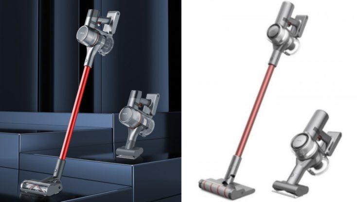 Dreame T20 vacuum cleaner product pictures comparison predecessor