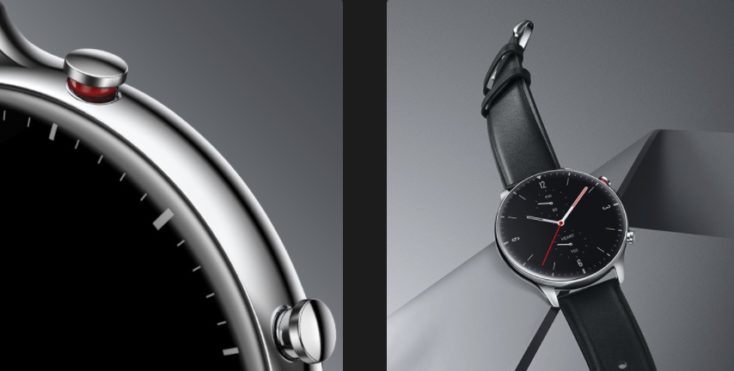 Huami Amazfit GTR 2 Smartwatch Design