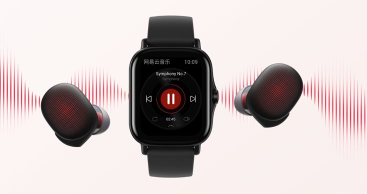 Huami Amazfit GTS 2 music playback streaming