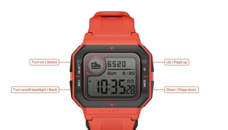 Huami Amazfit Neo Smartwatch Operation