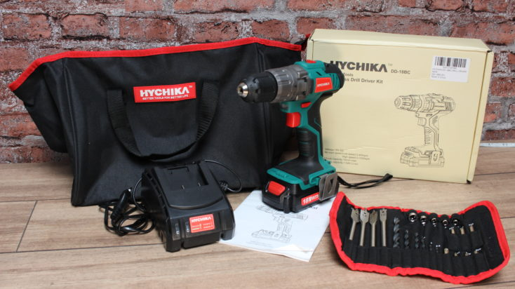 Hychika DD-18BC scope of delivery