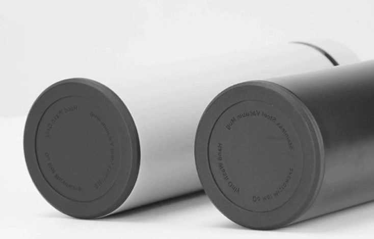 Smart thermo bottle bottom