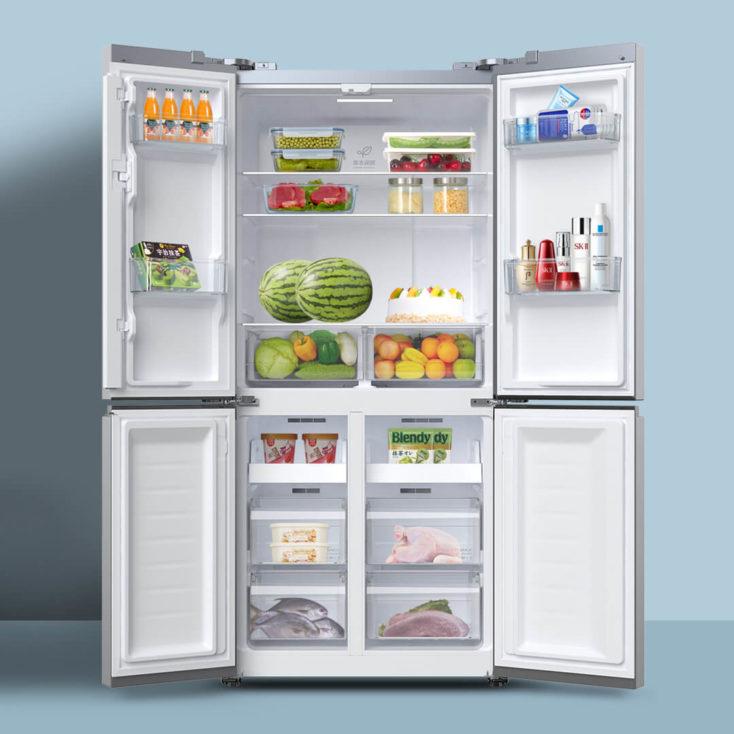 VIOMI Smart refrigerator inside