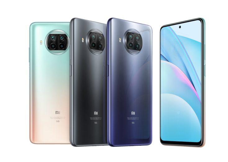 Xiaomi Mi 10T Lite Smartphone colors