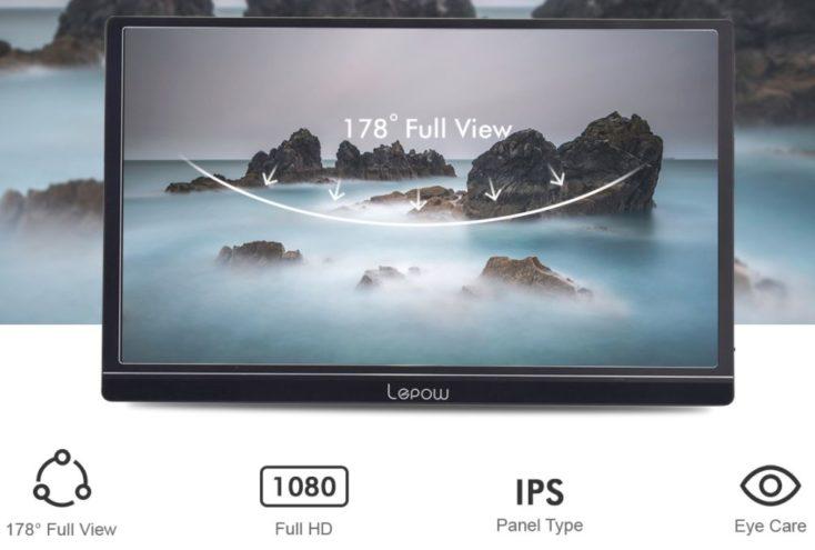 Lepow Portable Display 2020 display