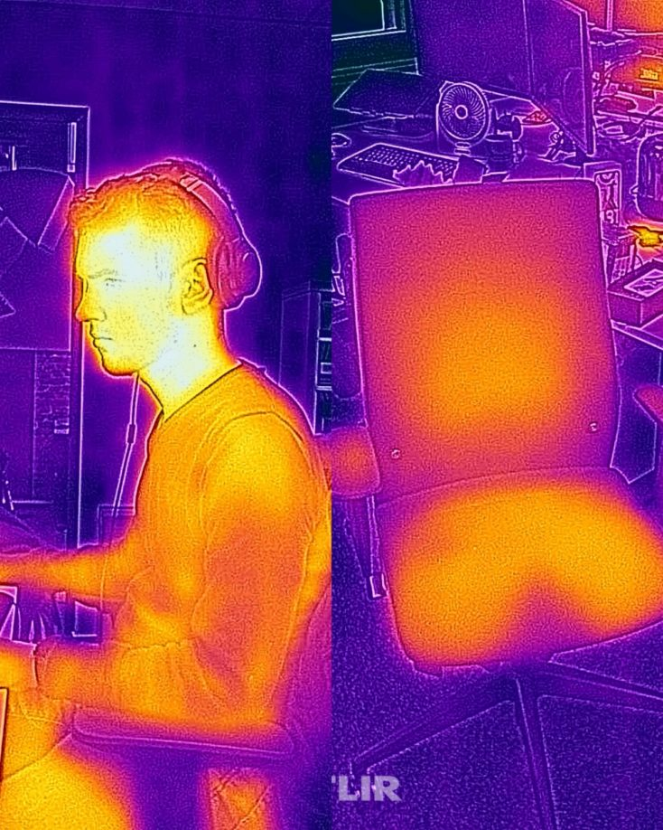 Ulefone Armor 9 thermal imaging camera