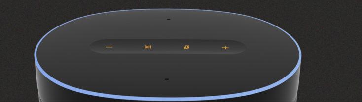 Xiaomi Mi Smart Speaker buttons