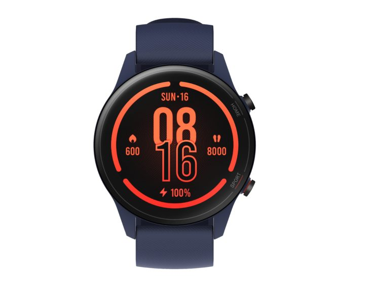 Xiaomi Mi Watch Display Blue