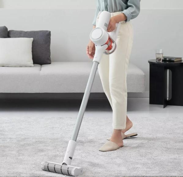 Xiaomi Mijia K10 cordless vacuum cleaner suction power carpet