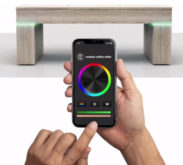 coolest table lights LEDs App