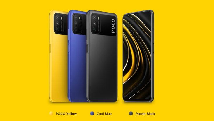 POCO M3 colors