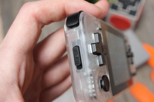 Powkiddy Q90 off switch