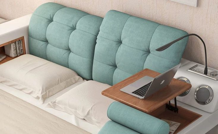 Ultimate bed headboard