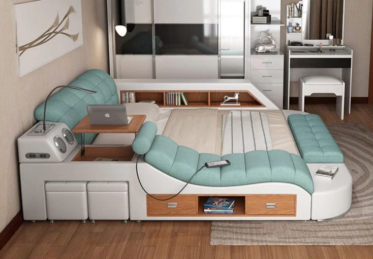 Ultimate bed side view