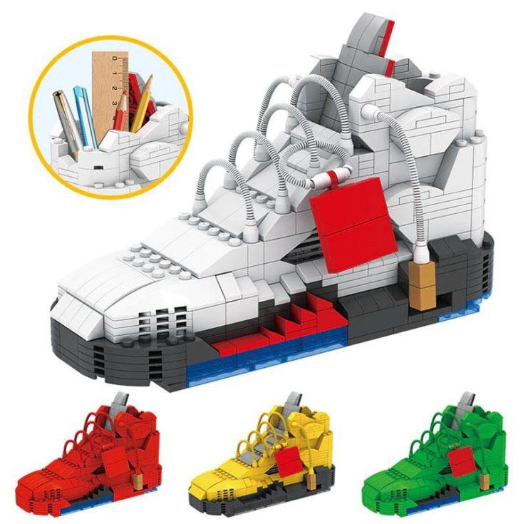 AliExpress building blocks sneakers