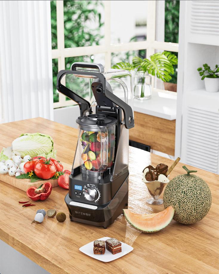 BlitzWolf BW-CB2 blender in kitchen