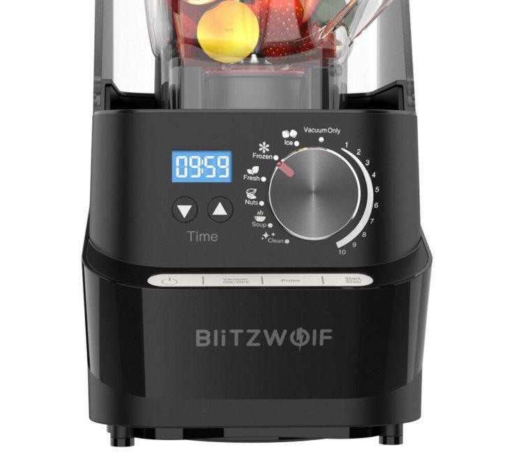 BlitzWolf BW CB2 blender control panel