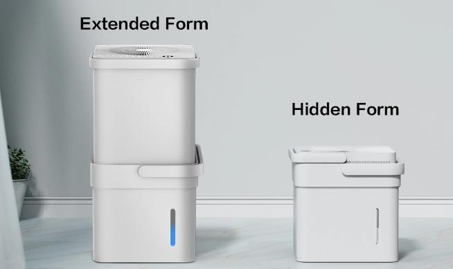Midea Cube dehumidifier canister dimensions