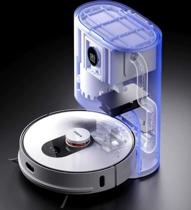 Roidmi EVE Plus vacuum robot extraction station functionality