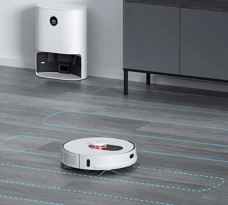 Roidmi EVE Plus vacuum robot mode of operation