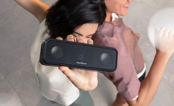 Soundcore 3 Bluetooth speaker design