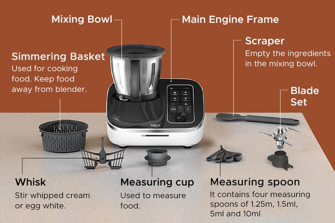 TOKIT Omni Cook scope of delivery