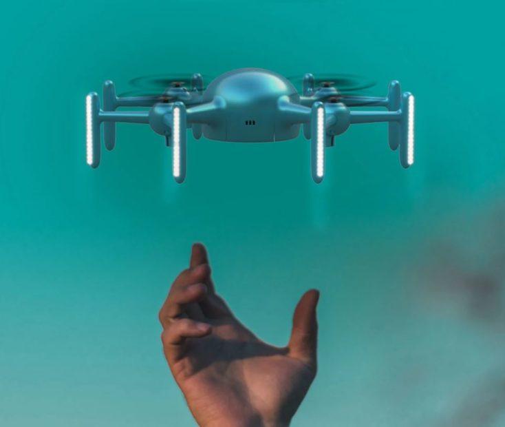 X09A LED Drone flight