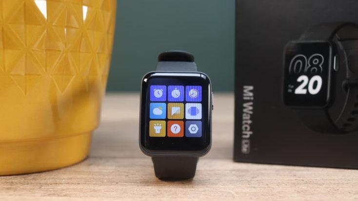 Xiaomi Mi Watch Lite Smartwatch Menu 2