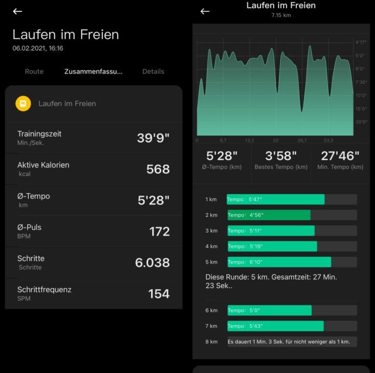Xiaomi Mi Watch Lite Smartwatch Running