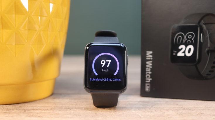 Xiaomi Mi Watch Lite Smarwatch Sleep Widget