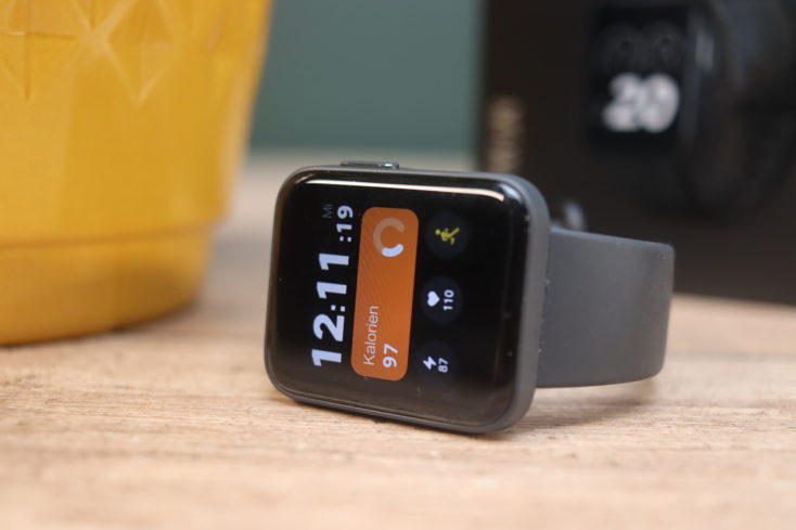 Xiaomi Mi Watch Lite smartwatch display horizontal
