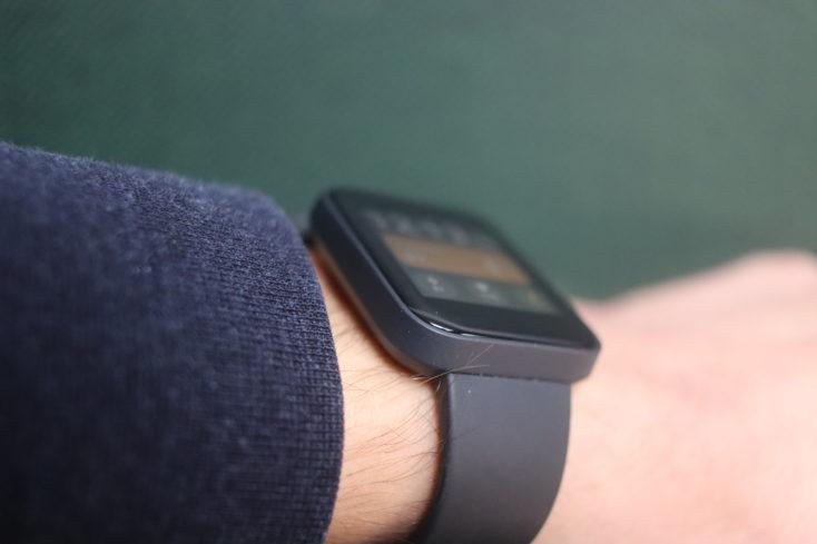 Xiaomi Mi Watch Lite smartwatch workmanship